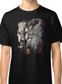 Mononoke San and the Spirit of the Wolf Classic T-Shirt
