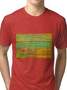 River landscape Tri-blend T-Shirt