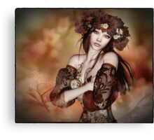 The Emergence of Autumn Canvas Print