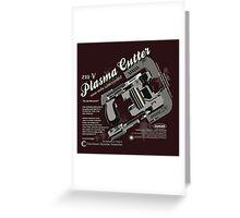 Dead Space - Plasma Cutter Greeting Card