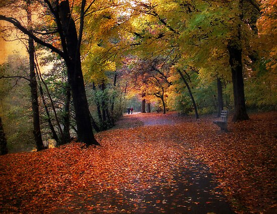 Autumn Stroll by Jessica Jenney