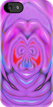 IPHONE CASE - DIGITAL ABSTRACT No. 80 by chompo