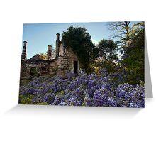 Eurama Ruins - Faulconbridge NSW Greeting Card