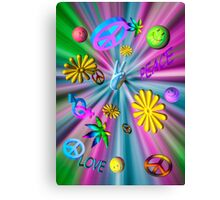 A Groovy Poster Canvas Print
