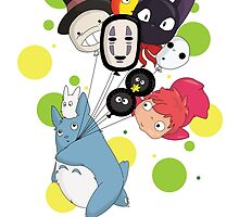 I ♥ Studio Ghibli by Lacis
