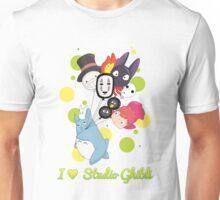 I ♥ Studio Ghibli Unisex T-Shirt