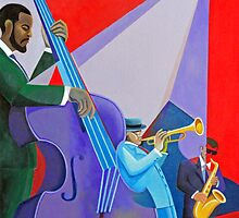 Purple Bass by Tony Velez
