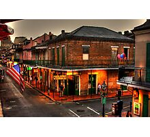 Evening on Bourbon Photographic Print