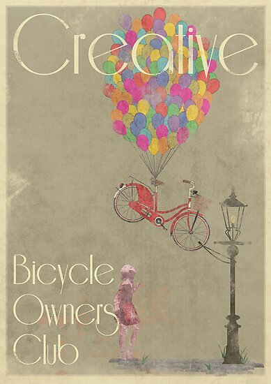 Creative Bicycle Owners Club by Andy Scullion