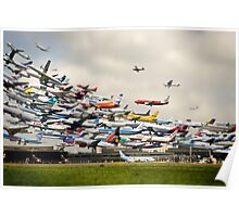 Hannover-Langenhagen Airport Poster