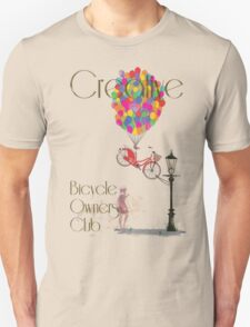 Creative Bicycle Owners Club Unisex T-Shirt