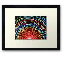 Sunset Tunnel Framed Print