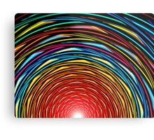 Sunset Tunnel Metal Print