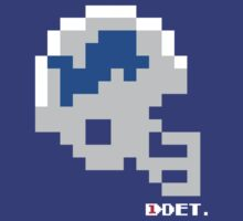 Tecmo Bowl - Detroit Lions - 8-bit - Mini Helmet shirt by QB Bills