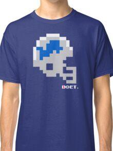 Tecmo Bowl - Detroit Lions - 8-bit - Mini Helmet shirt Classic T-Shirt