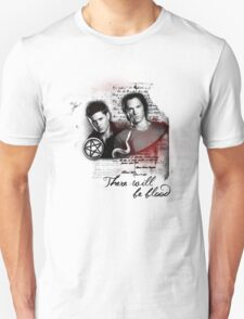 THERE WILL BE BLOOD - SPN TSHIRT Unisex T-Shirt
