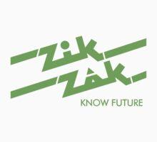 Zik Zak - The Sticker by LurkingGrue