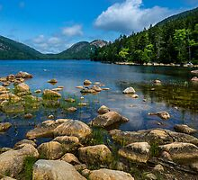 Jordan Pond by Jeff Hunt