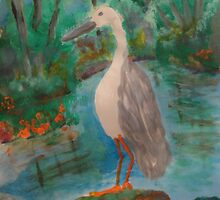 Jabiru Stream by Alison Pearce