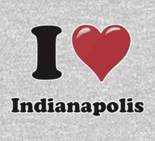 I Heart / Love Indianapolis by HighDesign