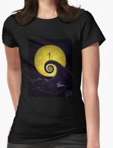 This is Halloween Womens Fitted T-Shirt