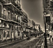 French Quarter Morning by Greg and Chrystal Mimbs