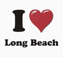 I Heart / Love Long Beach by HighDesign