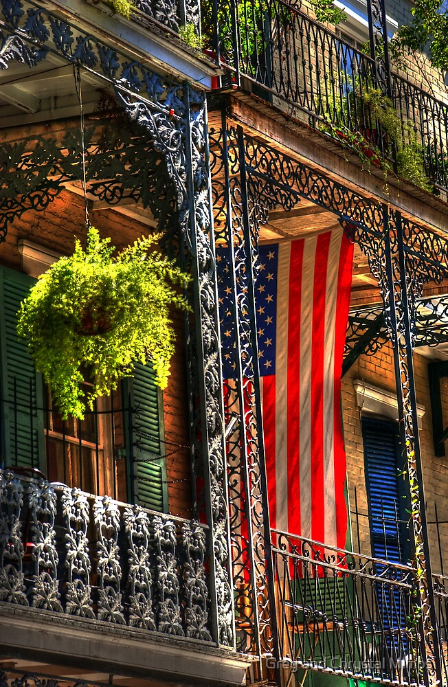 Ferns and Flags by Greg and Chrystal Mimbs