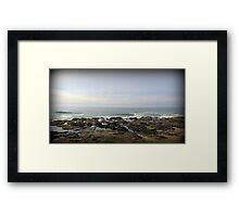 Tidal Lull...Yachats, Oregon Framed Print