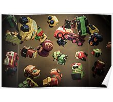 Toy Toss Poster