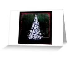 White Christmas  Greeting Card