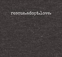 rescue.adopt.love T-Shirt