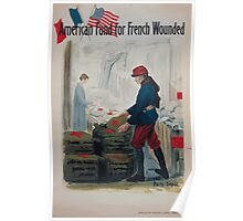 American Fund for French Wounded Poster