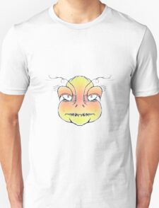 Angry Monster Portrait Drawing T-Shirt