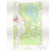 USGS Topo Map Washington State WA Sumner 244123 1956 24000 Poster