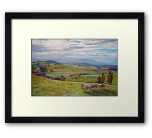 From High Camp to Tallarook Framed Print