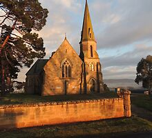 Uniting Church, Ross in Tasmania by Wendy Dyer