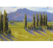 """Afternoon at Hanmer Springs, NZ"" Photographic Print"