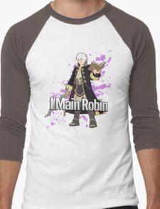 I Main Robin - Super Smash Bros Men's Baseball ¾ T-Shirt
