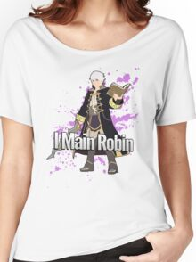 I Main Robin - Super Smash Bros Women's Relaxed Fit T-Shirt