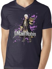 I Main Robin - Super Smash Bros Mens V-Neck T-Shirt