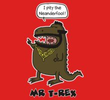 Mr T-Rex by shampson