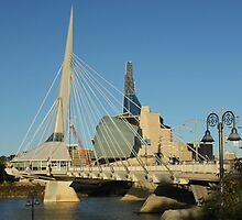 Two Winnipeg Landmarks by Stephen Thomas