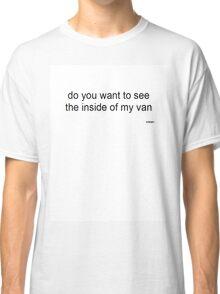 Inside Van Classic T-Shirt
