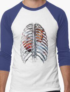 Gallifreyan Time Lord/ Time Lady Men's Baseball ¾ T-Shirt