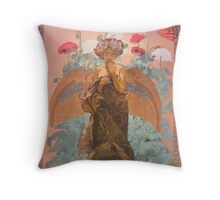 Autumn Sprite Throw Pillow