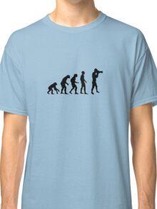 Photographer evolution Classic T-Shirt