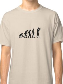 Photographer evolution Classic T-Shirt