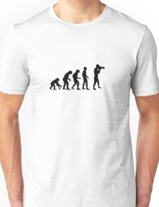 Photographer evolution Unisex T-Shirt