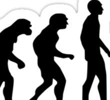 Photographer evolution Sticker